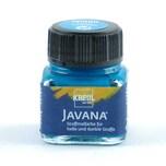 KREUL Javana Stoffmalfarbe helle und dunkle Stoffe 20ml türkis