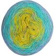 Rico Design Creative Cotton Dégradé Print 200g 800m blau-grün