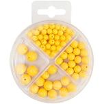 Perlen-Set 70-teilig gelb