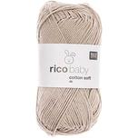 Rico Design Baby Cotton Soft dk 50g 125m kokos
