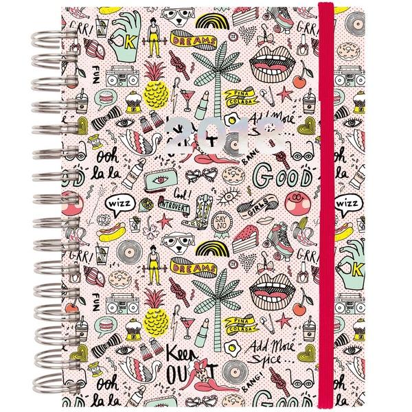Paper Poetry Magical Summer Agenda 2018 18,5x21,5cm