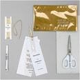 Paper Poetry Transparentpapierblock Punkte 21x29,5cm 12 Blatt gold