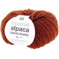 Rico Design Essentials Alpaca Blend chunky 50g 90m rotbraun