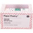 Paper Poetry Tape Set Hygge Plants 5teilig