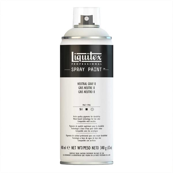 Liquitex Acrylspray 400ml neutralgrau 8