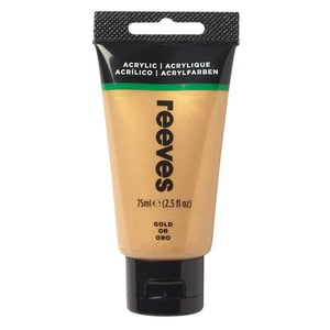 reeves Acrylfarbe 75ml gold