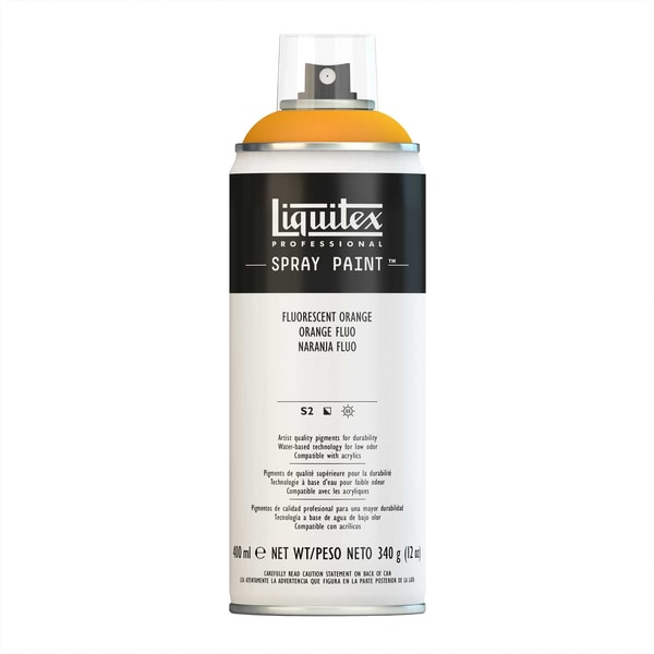 Liquitex Acrylspray 400ml orange fluo