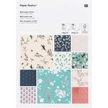Paper Poetry Motivpapierblock Jardin Japonais 30 Blatt