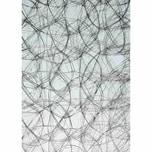HobbyFun Strukturvlies 30cm silber