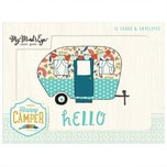 MyMindsEye Scrapbooking Card Set Happy Camper 12 Stück