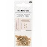 Jewellery Made by Me Federring-Verschlüsse und Ketten gold 14teilig