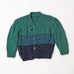 Strickset Jacke Modell 11 aus Rico Baby Nr. 023 110-128