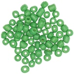 Jewellery Made by Me Keramikperlen natur 5mm 12g grün