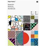 Paper Poetry Motivpapier Block 90er 21x30cm 30 Blatt