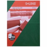 Artoz Doppelkarte S-Line A6 200g/m² 5 Stück tannengrün