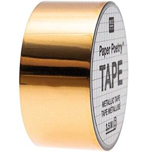 Paper Poetry Mirror Metallic Tape gold 19mm 3,5m