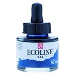 ECOLINE flüssige Wasserfarbe 30ml indigo