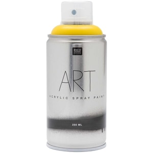 Rico Design Art Acrylic Spray 250ml gelb