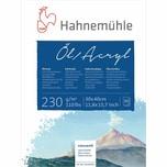 Hahnemühle Öl- und Acrylmalblock 10 Blatt 30x40cm