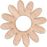 Rico Design Holzfurnier Gerbera selbstklebend 8x8cm