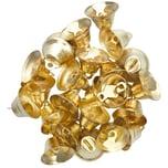 Ohhh! Lovely! Metallglöckchen goldfarbig 2x1,5cm 24 Stück