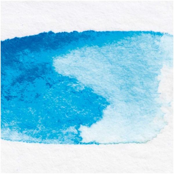 Rico Design ART Künstler Aquarellfarbe halbes Näpfchen cyan