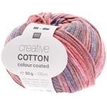 Rico Design Creative Cotton Colour Coated 50g 125m blau-rot