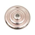 Jewellery Made by Me Diskus mit Kreisen roségold 21mm 6 Stück