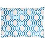 Rico Design Gobelin Kissen grafisch blau 50x35cm Stick-Set