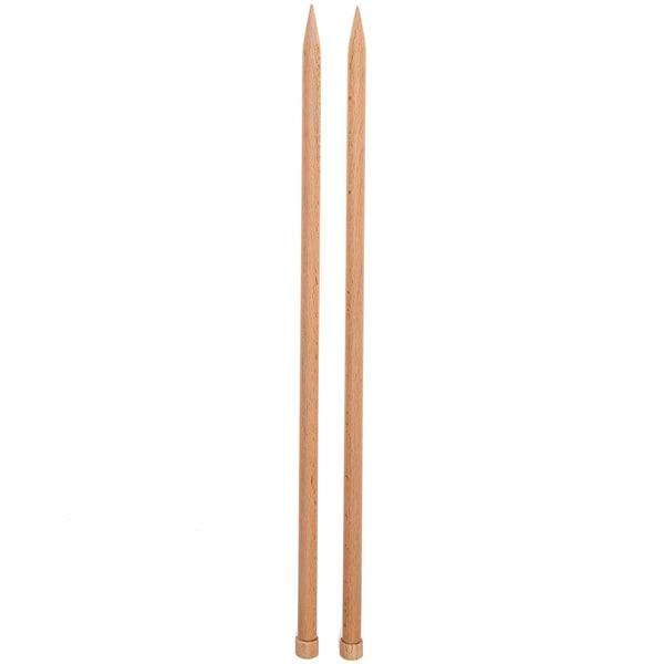 Rico Design Jackenstricknadeln 40cm Holz 12,0