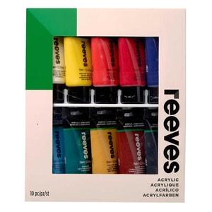 reeves Acrylfarben Set 10x75ml