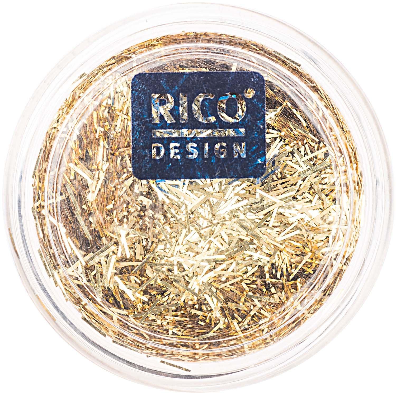 Rico Design Stäbchen Glitter 4g gold