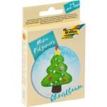 folia Mini-Filzinies Filznähset Christbaum 21-teilig