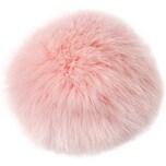 Rico Design Kunstfellbommel 10cm rosa
