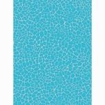 décopatch Papier Mosaik blau 3 Bogen