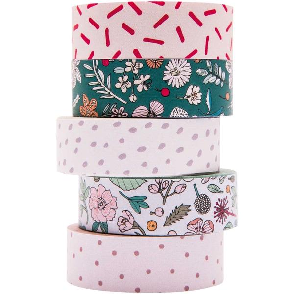 Paper Poetry Tape Set Hygge Flowers 5teilig