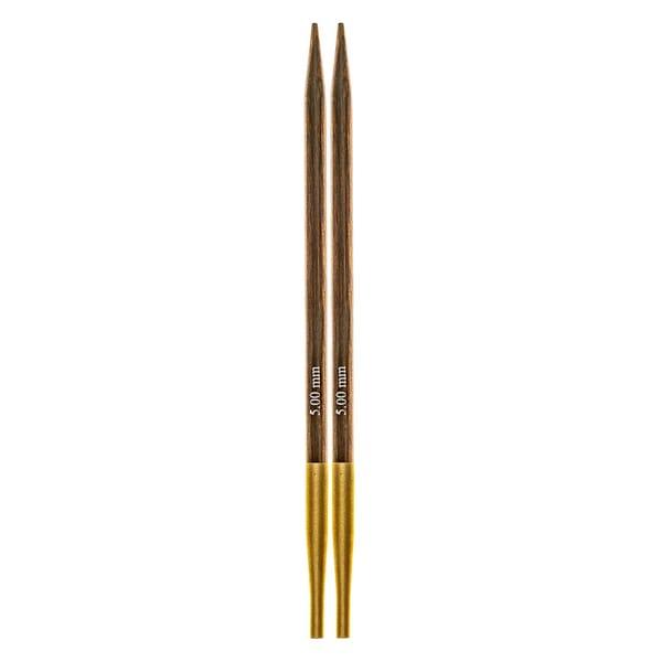 KnitPro Nadelspitzen auswechselbar Birkenholz 5,0
