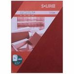 Artoz Bogen S-Line A4 80g/m² 5 Stück weinrot
