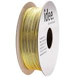 Laméband gold 3mm 10m