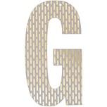 Rico Design Buchstabe für Girlande 14cm G