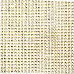 Schmuckplatte Strassimitation 12x12cm 2 Stück gold