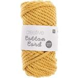 Rico Design Creative Cotton Cord Makramee-Garn senf 130g 25m