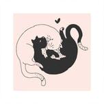 May&Berry Stempel Katzen nude 45x45mm