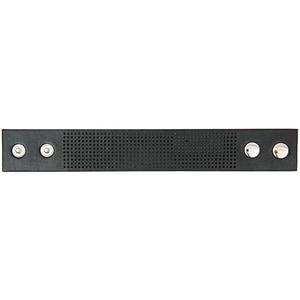 Armband zum Besticken 23x3cm schwarz