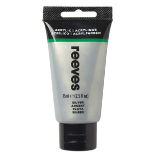 reeves Acrylfarbe 75ml silber