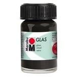Marabu Glasfarbe 15ml schwarz