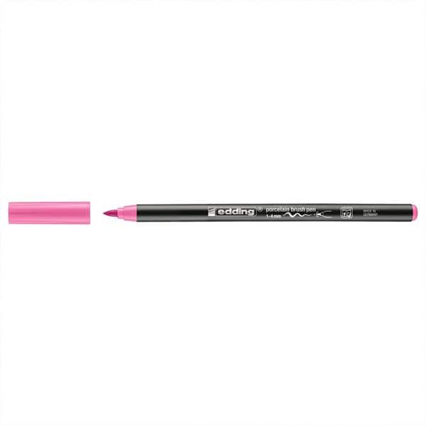 edding 4200 Porzellan-Brushpen rosa
