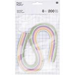 Paper Poetry Quilling Papierstreifen pastell 8mm 200 Stück