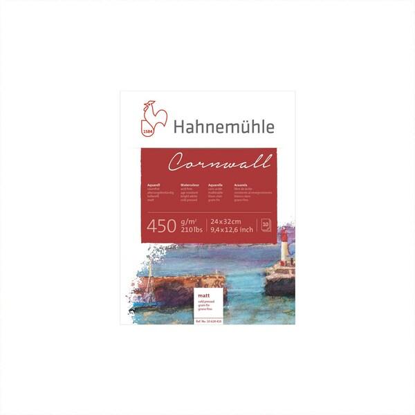 Hahnemühle Aquarellblock Cornwall matt 450g/m² 10 Blatt 24x32cm