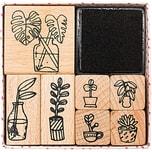 Paper Poetry Stempelset Hygge Plants 8teilig